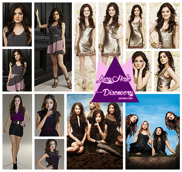 voici la Promotional du photoshoot de la série Pretty Little Liars de la saison 1