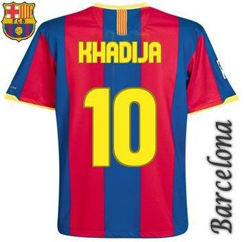 my barça t-shirt