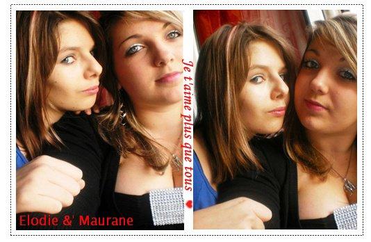 Elodie   && Maurane