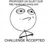 Relèvera tu le défi ??!!