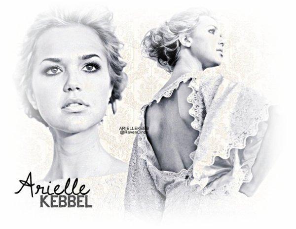 ARIELLEKEBB.skyrock.com Ta source sur la Charmante Arielle Kebbel ! - Arielle Caroline Kebbel, plus connu sous le nom d'Arielle Kebbel, est âgée de 27 ans. Elle est née le 19 février 1985 à Winter Park en Floride. En 2002, Arielle Kebbel a été candidate pour le concours de la Miss Floride. Elle a été mannequin pour certains magazines comme Maxim, avant de poursuivre sa carrière d'actrice à partir de 2003, où elle a jouer dans un épisode Des Experts : Las Vegas. Entre temps elle a des petits rôles dans des films et séries, puis en 2005 elle joue le rôle d'Elyse Houston dans American Pie : No limit !.  On a pu la voir également dans les séries télévisées comme Gilmore Girls, True Blood.. et en 2009 elle intègre le casting de la célèbre série The Vampire Diaries, où elle incarne Lexi Branson, la meilleure amie de Stefan Salvatore (Paul Wesley).   - Biographie écrite par ArielleKebb.skyrock.com, donc si tu prend, tu crédites par un lien.