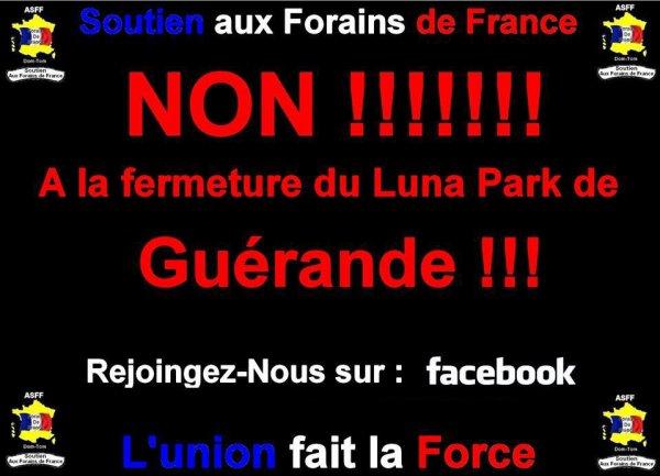 Non à la fermeture du Luna Park de Guérande !!