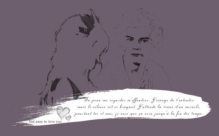 8888 Pas facile de t'aimer  « Tout ce que l'amour fait n'est que briser, brûler et s'achever ... »  Not easy to love you88888 8888