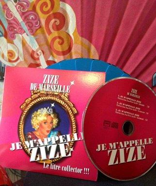 """ZiZe le CD """"Je m'appelle ZIZE"""""""