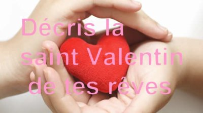 Décris la Saint Valentin de tes rêves <3