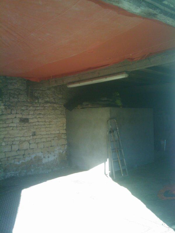 mon garage amenager anti poussiere et pret a recevoir ma 1303