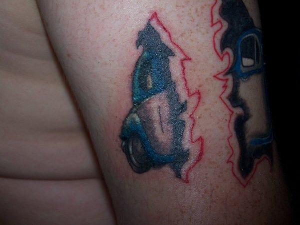 fin de mon tatouage