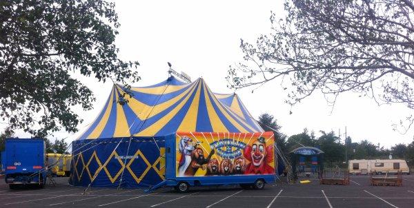 cirque sabrina fratellini à tours ( la Riche)  du 19 au 3 novembre