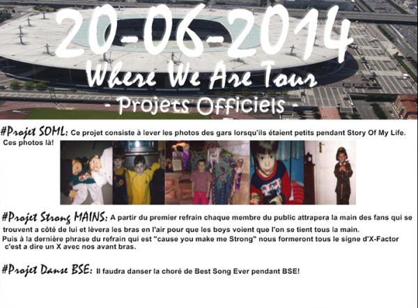 Projet officiel du WWA Tour (20/06)
