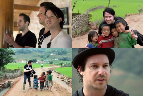 Simple plan-Summer paradise live and special interview for Mtv Exit
