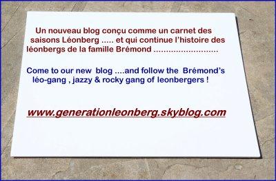 UN PETIT SOMMAIRE DE NOTRE BLOG :notre famille léonberg de 2000 à 2011 ...
