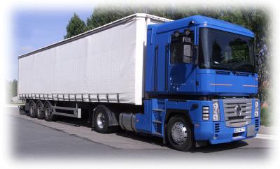 camion semi remorque