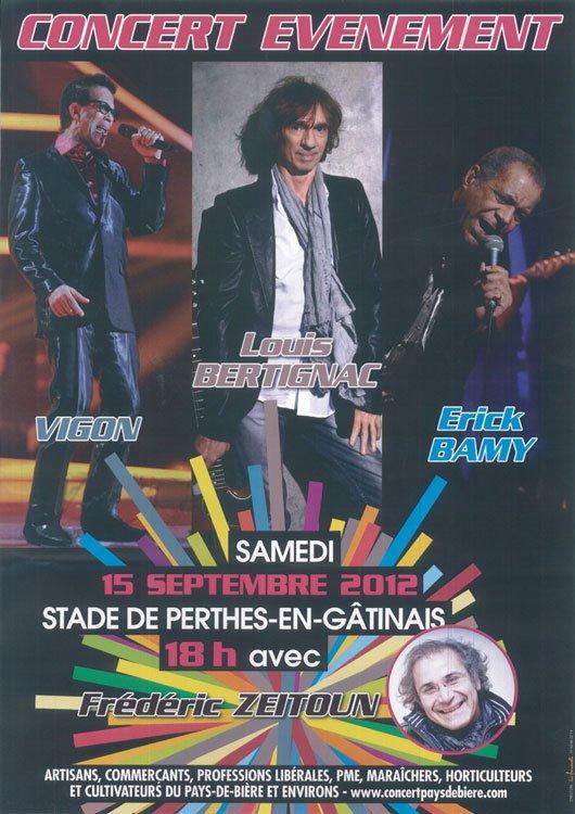 15/09/2012 : Concert gratuit au stade de Perthes en Gâtinais