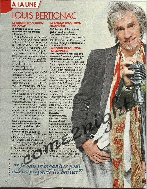 petit article de TV magazine