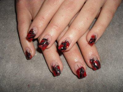 En rouge et noir...