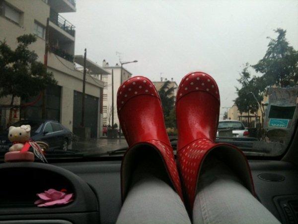 il pleut ....il pleut bergere ptdr