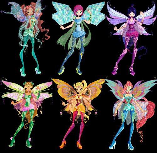 Transformations des Winx !