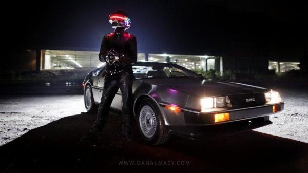 Daft Punk & DeLorean