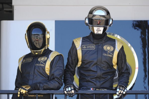 Daft Punk & Lotus F1 Team (Grand Prix de Monaco 26 Mai 2013)