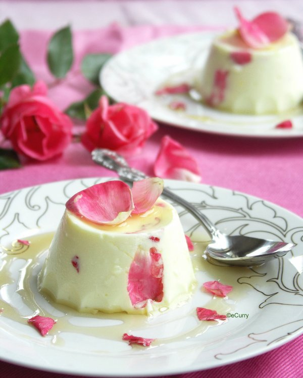 *** dessert poème a la  Rose ***