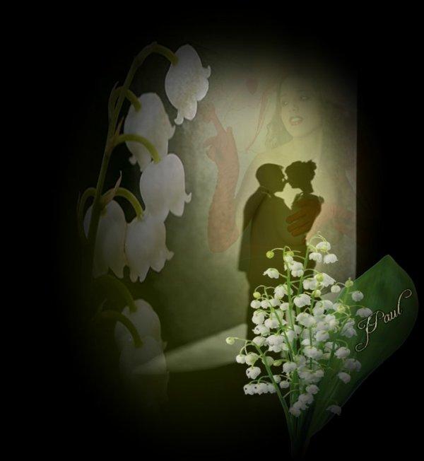 """***Hommage à cette fleur, ces clochettes blanches qui sentent si bon l'arrivée du printemps*Amor patitur moras*""""Omnia vincit amor"""", *"""