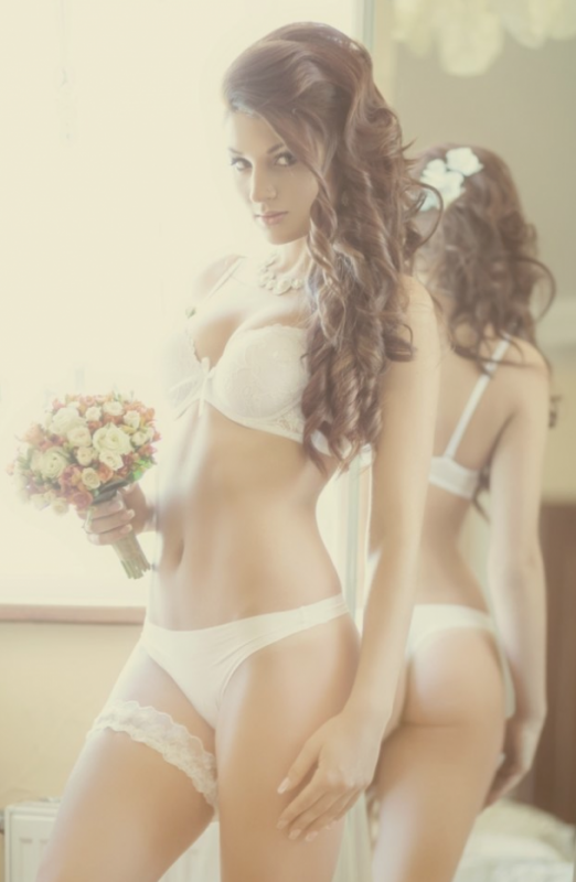 ***mes dentelles blanches transparentes****