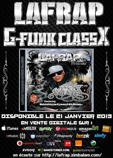 L'ALBUM G FUNK CLASS X