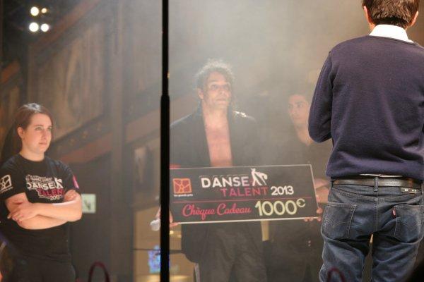 """Photos prise a MONS en Belgique , le 23/03/2013 sur le podium de """" Danse Talent """" 2013"""