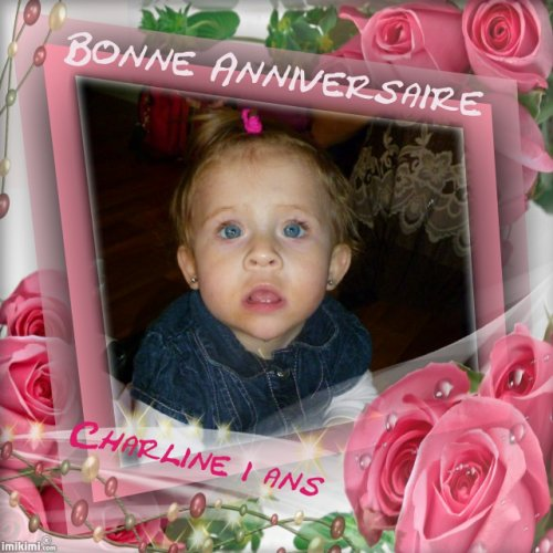 MA NIECE CHARLINE A DEJA 1 ANS CE 20 JANVIER 2011