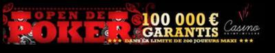 tournoi poker 100 000¤ à la Réunion