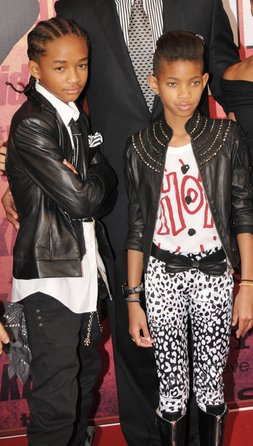 jaden  et Willow Smith !