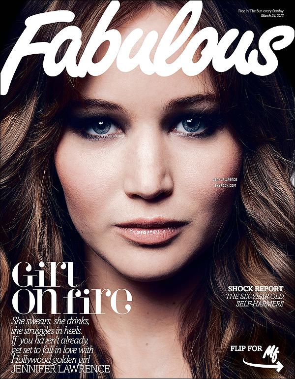 """Découvrez la couverture de Jennifer, pour le magazine """"Fabulous"""", plus un extrait de l'interview."""