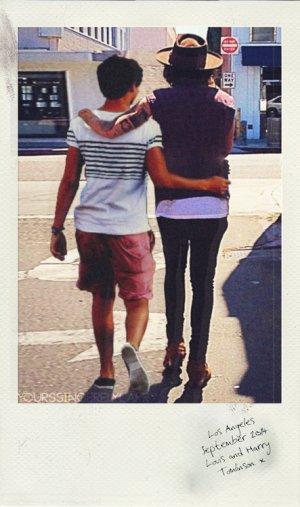 Harry et moi en vacances