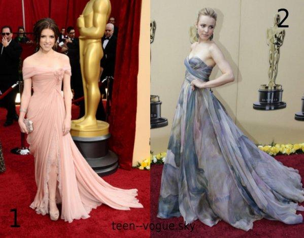 Les plus belle robe des oscar