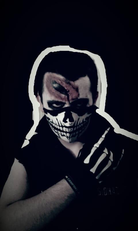 Moi pour Halloween ^^