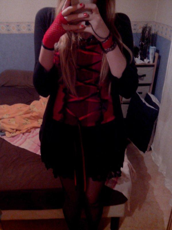 Ma robe Black Sugar, peut-on la qualifié de gothique ?