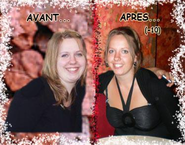 MOI avant & après la perte de poids - Cozette