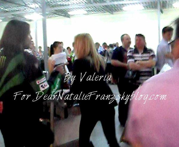 Natalie Franz à Moscou par Valeria