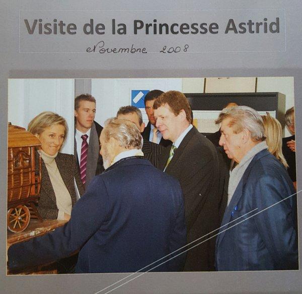 Rencontre avec la Princesse Astrid
