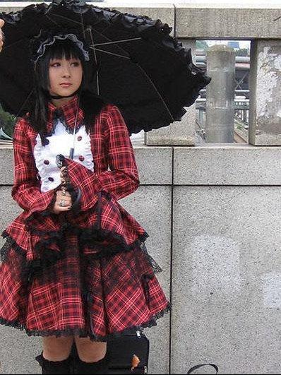 Elegante gothic lolita