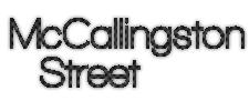 McCallingston Street