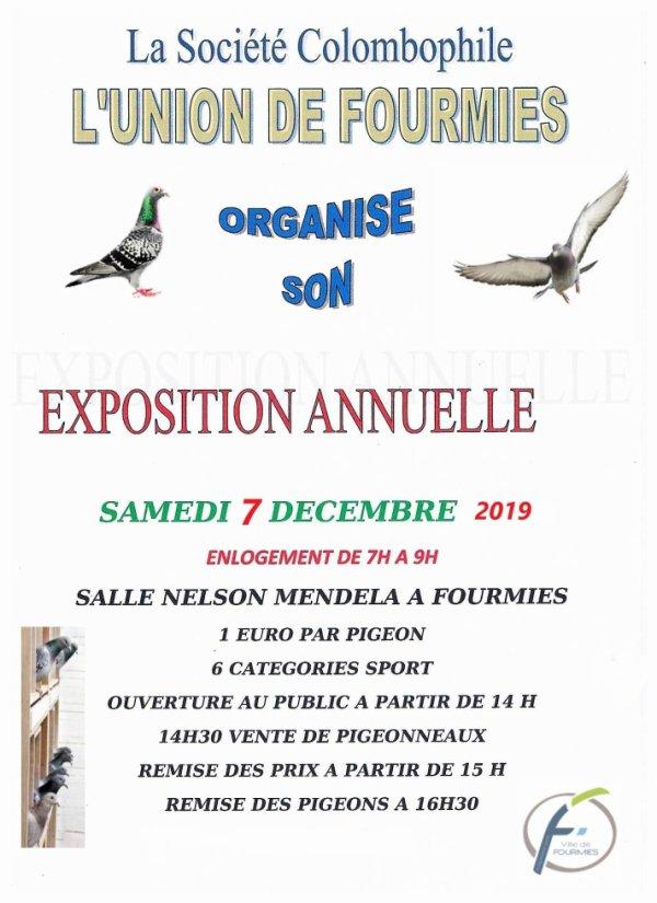 Exposition Annuelle 2019