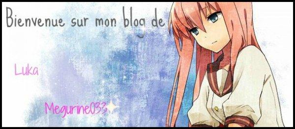 x Bienvenue sur mon blog x