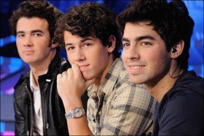ce que aime les Jonas Brothers