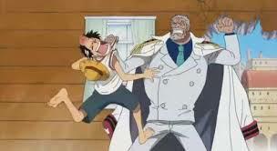 Luffy et Garp
