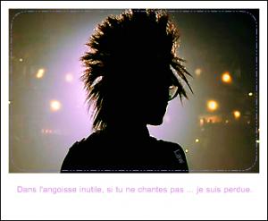 ___-___ Il n'y a pas que Tokio Hotel dans une vie. - Dans la mienne si.