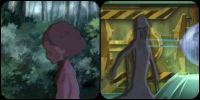 Les monstres de XANA apparus dans la saison 1.