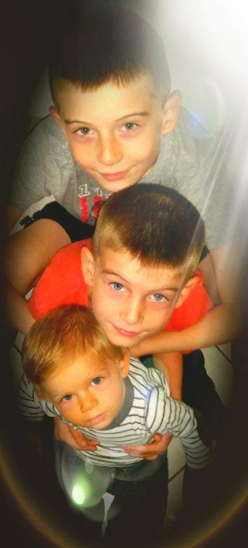 Mes 3 bébé