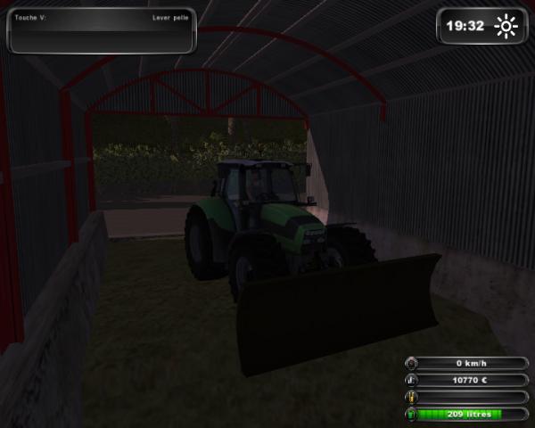 Tassage de mais farming simulator