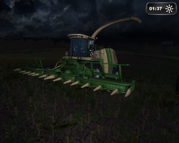 Ensillage de mais Farming simulator